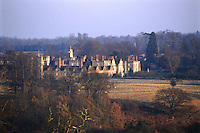 With its multitude of gables and chimneys, Knole House looks like a medieval village