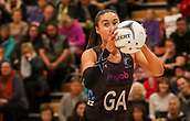10th September 2017, PG Arena, Napier, New Zealand; Taini Jamison Netball Trophy, New Zealand versus England;  New Zealands Maria Tutaia