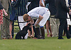 """PRINCE HARRY DISPLAYS HIS TENDERNESS FOR LUPO.Prince Harry should his fondness for Kate and Prince's William new puppy Lupo with a kiss and hug as he bade it goodbye..The Princes were playing in the annual Audi polo event at Cowarth Park, Windsor_13/05/2012.Kate and William also brought along their new puppy Lupo to the event..Mandatory Credit Photo: ©NEWSPIX INTERNATIONAL..**ALL FEES PAYABLE TO: """"NEWSPIX INTERNATIONAL""""**..IMMEDIATE CONFIRMATION OF USAGE REQUIRED:.Newspix International, 31 Chinnery Hill, Bishop's Stortford, ENGLAND CM23 3PS.Tel:+441279 324672  ; Fax: +441279656877.Mobile:  07775681153.e-mail: info@newspixinternational.co.uk"""