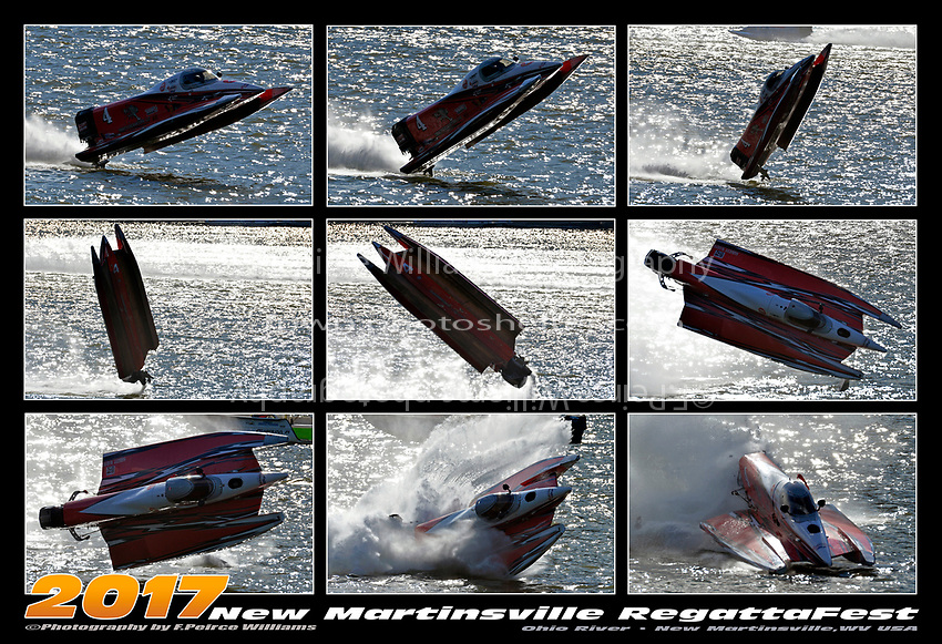 Wes Cheatham blowover. 9 frame MiniPoster