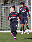 Barrie McKay with his BAZ shorts