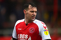 Fleetwood Town's Ross Wallace in action<br /> <br /> Photographer Richard Martin-Roberts/CameraSport<br /> <br /> The EFL Sky Bet League One - Fleetwood Town v Plymouth Argyle - Saturday 16th March 2019 - Highbury Stadium - Fleetwood<br /> <br /> World Copyright © 2019 CameraSport. All rights reserved. 43 Linden Ave. Countesthorpe. Leicester. England. LE8 5PG - Tel: +44 (0) 116 277 4147 - admin@camerasport.com - www.camerasport.com