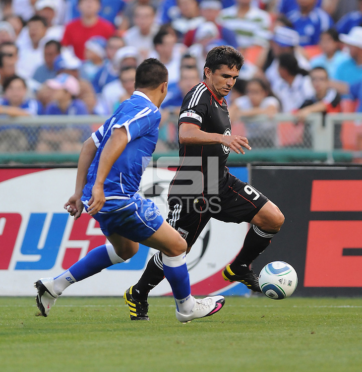 DC United forward Jaime Moreno (99).  DC United defeated El Salvador National Team 1-0 in a international charity match at RFK Stadium, Saturday June 19, 2010.