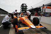 2017-05-03 VICS Fernando Alonso Test for Indianapolis 500