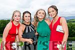 Enjoying the Colaiste na Sceilge Debutante Ball at Ballyroe Heights Hotel on Tuesday were l-r  Courtney O'Sullivan, Ciara O'Sullivan, Alannah O'Shea and Ciara Fogarty