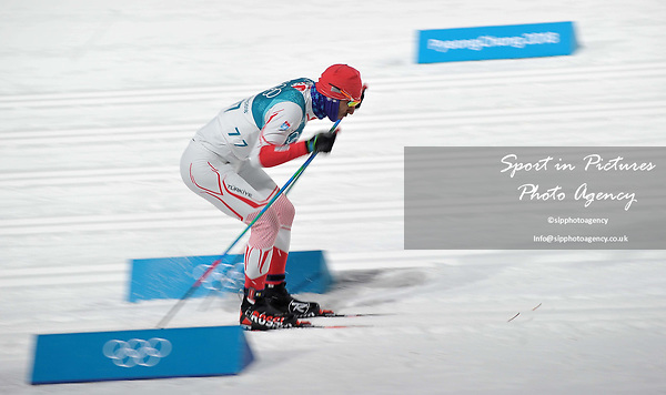 Omer Aycicek (TUR). Mens sprint classic qualification. Cross country skiing. Alpensia Croos-Country skiing centre. Pyeongchang2018 winter Olympics. Alpensia. Republic of Korea. 13/02/2018. ~ MANDATORY CREDIT Garry Bowden/SIPPA - NO UNAUTHORISED USE - +44 7837 394578