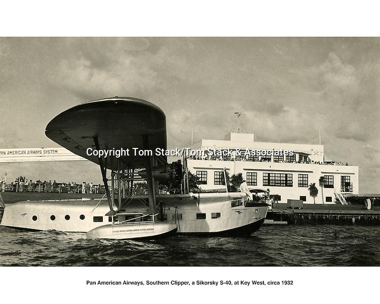 Pan Am Clipper, Key West, 1932