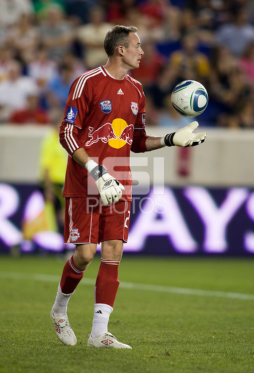 Greg Sutton. Tottenham defeated the New York Red Bulls, 2-1.