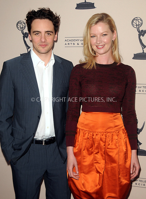 WWW.ACEPIXS.COM . . . . .  ....April 26 2012, LA....Actors Vincent Piazza and  Gretchen Mol at an evening with 'Boardwalk Empire' at the Leonard H. Goldenson Theatre on April 26, 2012 in North Hollywood, California.....Please byline: PETER WEST - ACE PICTURES.... *** ***..Ace Pictures, Inc:  ..Philip Vaughan (212) 243-8787 or (646) 769 0430..e-mail: info@acepixs.com..web: http://www.acepixs.com