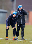 16.3.2018: Rangers training:<br /> Fabio Cardoso and Graeme Murty