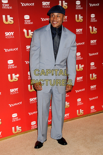 LL COOL J (James Todd Smith ).US Weekly's Hot Hollywood Party 2009 held at Voyeur, West Hollywood, California, USA..November 18th, 2009.full length grey gray suit black hat blue tie.CAP/ADM/BP.©Byron Purvis/AdMedia/Capital Pictures.