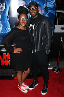 "LOS ANGELES, CA, USA - APRIL 16: Keisha Spivey, Omar Epps at the Los Angeles Premiere Of Open Road Films' ""A Haunted House 2"" held at Regal Cinemas L.A. Live on April 16, 2014 in Los Angeles, California, United States. (Photo by Xavier Collin/Celebrity Monitor)"