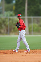 St. Louis Cardinals Allen Cordoba (34) during a Minor League Spring Training intrasquad game on March 31, 2016 at Roger Dean Sports Complex in Jupiter, Florida.  (Mike Janes/Four Seam Images)