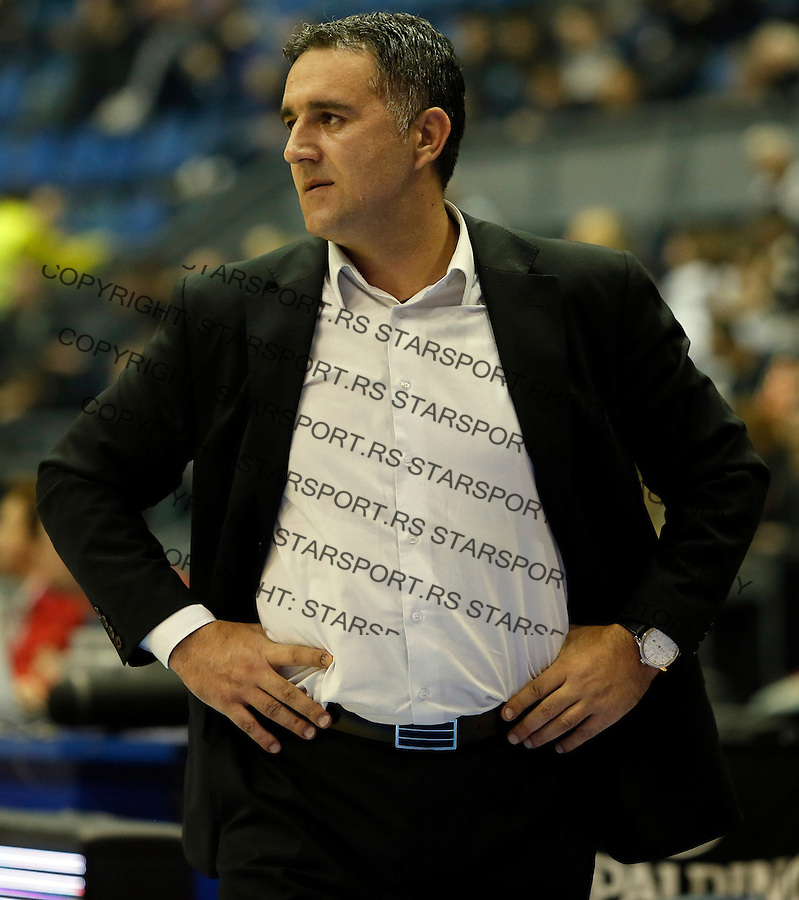 Dragan Bajic Aba regionalna liga Partizan - Igokea 27.12.1015. December 27. 2015. (credit image & photo: Pedja Milosavljevic / STARSPORT)