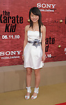 "WESTWOOD, CA. - June 07: Wenwen Han arrives at ""The Karate Kid"" Los Angeles Premiere at Mann Village Theatre on June 7, 2010 in Westwood, California."