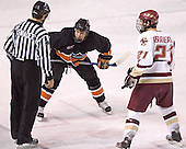 Brett Wilson, Benn Ferreiro - Boston College defeated Princeton University 5-1 on Saturday, December 31, 2005 at Magness Arena in Denver, Colorado to win the Denver Cup.  It was the first meeting between the two teams since the Hockey East conference began play.