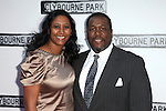 Wendell Pierce & Guest.attending the Broadway Opening Night Performance of 'Clybourne Park' at the Walter Kerr Theatre in New York City on 4/19/2012 © Walter McBride/WM Photography .