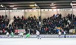 Stockholm 2014-11-19 Bandy Elitserien Hammarby IF - Tillberga Bandy :  <br /> Vy &ouml;ver Zinkensdamms IP med publik och tomma platser p&aring; huvudl&auml;ktaren under matchen mellan Hammarby IF och Tillberga Bandy <br /> (Foto: Kenta J&ouml;nsson) Nyckelord:  Elitserien Bandy Zinkensdamms IP Zinkensdamm Zinken Hammarby Bajen HIF HeIF Tillberga TB supporter fans publik supporters utomhus exteri&ouml;r exterior