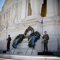 Tomba del Milite Ignoto all'Altare della Patria (Vittoriano)..The Tomb of the Milite Ignoto in the Altare della Patria (Vittoriano)