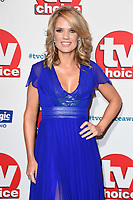 LONDON, UK. September 10, 2018: Charlotte Hawkins at the TV Choice Awards 2018 at the Dorchester Hotel, London.<br /> Picture: Steve Vas/Featureflash