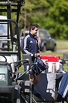 British & Irish Lions training session.Conor Murray arriving for the first Lions training session in Wales..Vale Resort.15.05.13.©Steve Pope