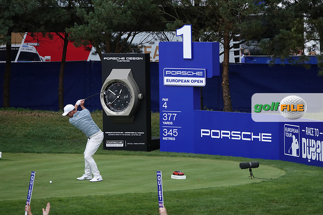 during the final round of the Porsche European Open , Green Eagle Golf Club, Hamburg, Germany. 08/09/2019<br /> Picture: Golffile | Phil Inglis<br /> <br /> <br /> All photo usage must carry mandatory copyright credit (© Golffile | Phil Inglis)