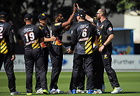 171220 Burger King Super Smash T20 Cricket - Wellington Firebirds v Northern Knights