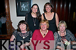 Having a laugh at the Kerry County Council Christmas party in the Grand hotel, Tralee last Saturday night were l-r: Caroline Stack, Siobhan O'Mahony and Margaret O'Sullivan. Back l-r: Louise Egan and Karen Condon.