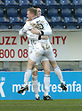 03/02/2007       Copyright Pic: James Stewart.File Name : sct_jspa05_falkirk_v_st_johnstone.KEVIN JAMES CELEBRATES WITH STEVEN ANDERSON AFTER HE SCORES ST JOHNSTONE'S SECOND.....James Stewart Photo Agency 19 Carronlea Drive, Falkirk. FK2 8DN      Vat Reg No. 607 6932 25.Office     : +44 (0)1324 570906     .Mobile   : +44 (0)7721 416997.Fax         : +44 (0)1324 570906.E-mail  :  jim@jspa.co.uk.If you require further information then contact Jim Stewart on any of the numbers above.........