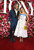 Wayne Coyne and Katy Weaverarrives at The 72nd Annual Tony Awards on June 10, 2018 at Radio City Music Hall in New York, New York, USA. <br /> <br /> photo by Robin Platzer/Twin Images<br />  <br /> phone number 212-935-0770