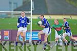 Declan Quill Kerins O'Rahillys v Timmy O'Sullivan Clonakilty in the Munster club football championship at Austin Stacks park on Sunday