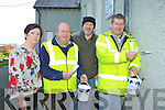 Patricia Spillane,Terence Houlihan, Billy Browne and Brendan Morris, who are helping to renovate the old Sean Scoil in Killorglin