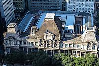 RIO DE JANEIRO, RJ, 31 JULHO 2012 - VISTA AEREA DO CENTRO DO RIO- Vista aerea do Museu nacional de Belas Artes,nesta terca-feira, dia 31, no centro do rio.(FOTO:MARCELO FONSECA / BRAZIL PHOTO PRESS).