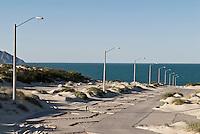 Abandoned housind development near San Felipe, Baja California, Mexico