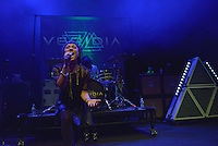MIAMI BEACH, FL - NOVEMBER 13: Deena Jakoub of VERIDIA performs on stage at Fillmore Miami Beach on November 13, 2016 in Miami Beach, Florida. Credit: MPI10 / MediaPunch
