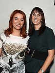 Aideen and Paula Phillips at the White Collar Boxing at the O'Raghalligh's. Photo:Colin Bell/pressphotos.ie