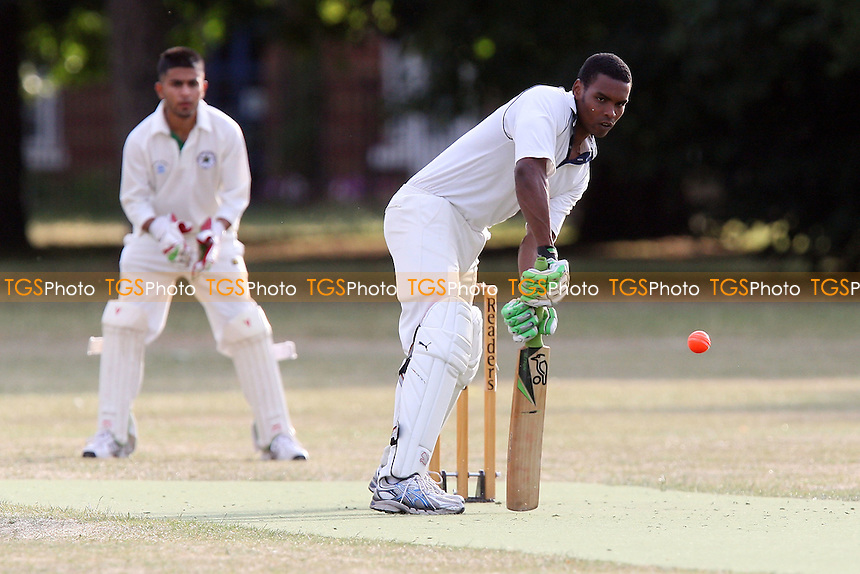 Contenders CC (batting) vs Safe Skills CC - Victoria Park Community Cricket League - 12/07/10 - MANDATORY CREDIT: Gavin Ellis/TGSPHOTO - Self billing applies where appropriate - Tel: 0845 094 6026