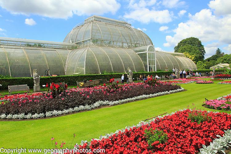 The Palm House at Royal Botanic Gardens, Kew, London, England, UK