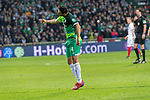 10.02.2019, Weser Stadion, Bremen, GER, 1.FBL, Werder Bremen vs FC Augsburg, <br /> <br /> DFL REGULATIONS PROHIBIT ANY USE OF PHOTOGRAPHS AS IMAGE SEQUENCES AND/OR QUASI-VIDEO.<br /> <br />  im Bild<br /> <br /> Claudio Pizarro (Werder Bremen #04)<br /> <br /> Foto © nordphoto / Kokenge