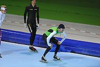 SCHAATSEN: HEERENVEEN: 24-10-2013, IJsstadion Thialf, Laatste training voor KPN NK afstanden, Erben Wennemars, ©foto Martin de Jong