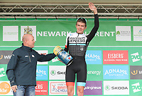 Picture by Alex Whitehead/SWpix.com - 06/09/2017 - Cycling - OVO Energy Tour of Britain - Stage 4, Mansfield to Newark-on-Trent - Madison Genesis's Richard Handley takes the Adnams Best British Rider award for Stage 4 of the Tour of Britain.