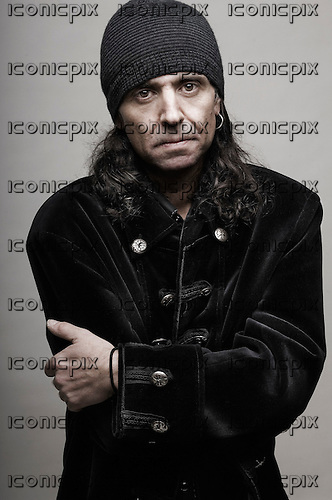 MOTORHEAD - Phil Campbell - photosession in Los Angeles USA - 29 Feb 2008.  Photo credit: Robert John/Dalle/IconicPix **AVAILABLE FOR UK ONLY**