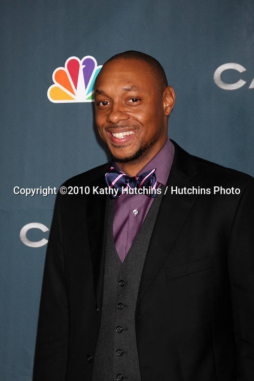 "LOS ANGELES - JAN 4:  Dorian Missick arrives at ""The Cape"" Premiere Party at Music Box Theater on January 4, 2011 in Los Angeles, CA."