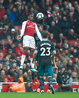 Arsenal's Danny Welbeck  during the EPL - Premier League match between Arsenal and Southampton at the Emirates Stadium, London, England on 8 April 2018. Photo by Andrew Aleksiejczuk / PRiME Media Images.