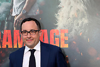 "LOS ANGELES - APR 4:  PJ Byrne at the ""Rampage"" Premiere at Microsoft Theater on April 4, 2018 in Los Angeles, CA"