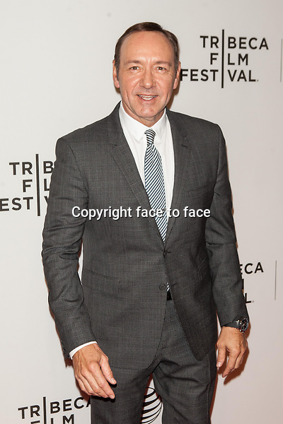 NEW YORK, NY - APRIL 21: Kevin Spacey attends Tribeca Talks: After the Movie: 'NOW: In the Wings on a World Stage' during the 2014 Tribeca Film Festival at BMCC Tribeca PAC on April 21, 2014 in New York City.<br />