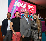 Lincoln Dresser, Gio Messale, Stewart F. Lane and Bonnie Comley from BroadwayHD debuted their slate of digital captures with Broadway & Beyond Theatricals at The APAP Conference  on January 912, 2020 at The Hilton Hotel Midtown in New York City.