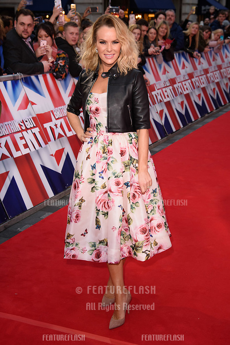 Amanda Holden at the London auditions for Britain's Got Talent 2018 at the London Palladium, London, UK. <br /> 28 January  2018<br /> Picture: Steve Vas/Featureflash/SilverHub 0208 004 5359 sales@silverhubmedia.com