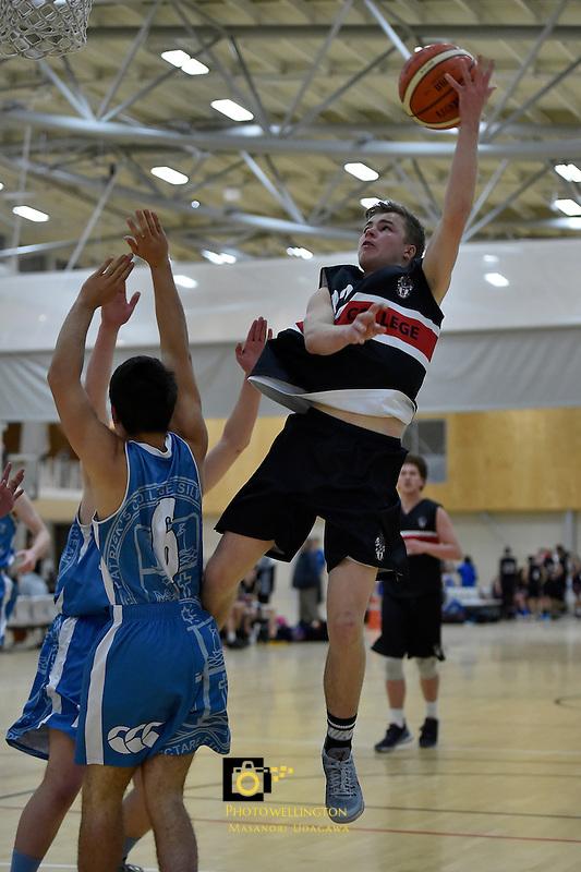 College Basketball - Premier Championship at ASB Sports Centre, Wellington, New Zealand on Friday 1 July 2016. <br /> Photo by Masanori Udagawa. <br /> www.photowellington.photoshelter.com.