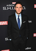 "HOLLYWOOD - FEBRUARY 24:   Iain De Caestecker at 100th Episode Celebration of ABC's ""Marvel's Agents of S.H.I.E.L.D.""  at OHM Nightclub on February 24, 2018 in Hollywood, California.(Photo by Scott Kirkland/PictureGroup)"